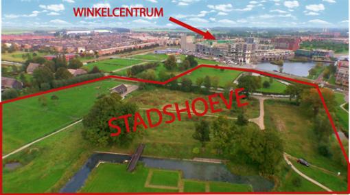 Scholen Stadshagen in actie voor realisatie Park De Stadshoeve (foto's)