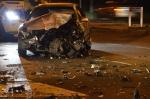 Fors ongeval op kruising Hasselterweg