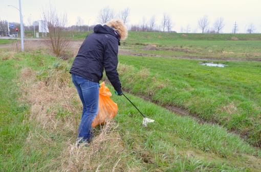 Grote schoonmaakactie Breecamp-Oost