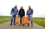 Stadshagenaren maken Boerderijenpad schoon