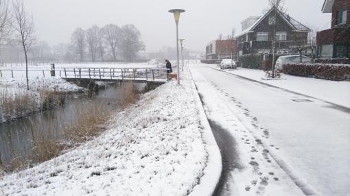Sneeuwpret in Stadshagen