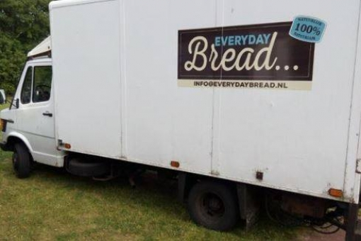 Bakkersbus gestolen in Stadshagen