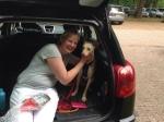 Vermiste hond na dagen weer gevonden