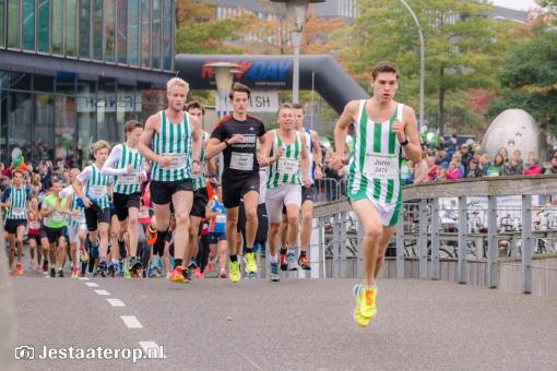 Deelnemers StadshagenRun 8 seconden te snel
