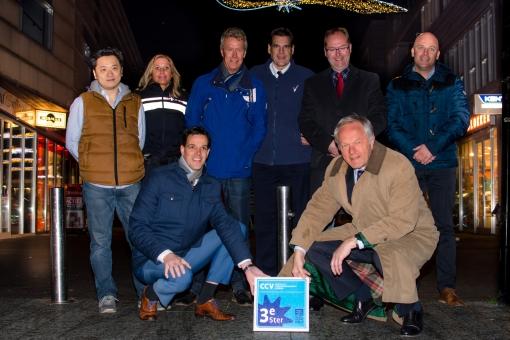 3e KVO-ster voor Winkelcentrum Stadshagen