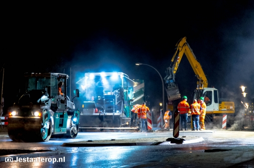 Werkzaamheden Belvédèrelaan bijna afgerond (foto's)