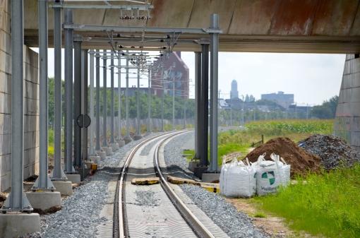 In vier minuten van station Stadshagen naar Centraal