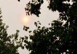 Feloranje zon kleurt Stadshagen