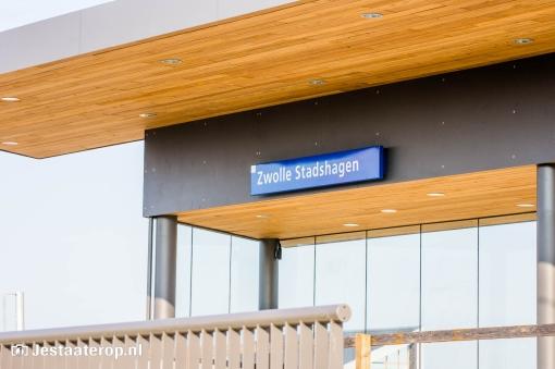 Stationsgebied Stadshagen krijgt vorm (fotoreportage)