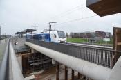 Nieuwe trein rijdt over Kamperlijn