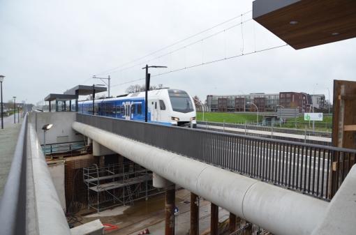 Station Stadshagen binnenkort alsnog in gebruik