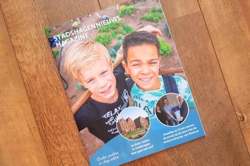 Zomereditie StadshagenNieuws Magazine in de brievenbus