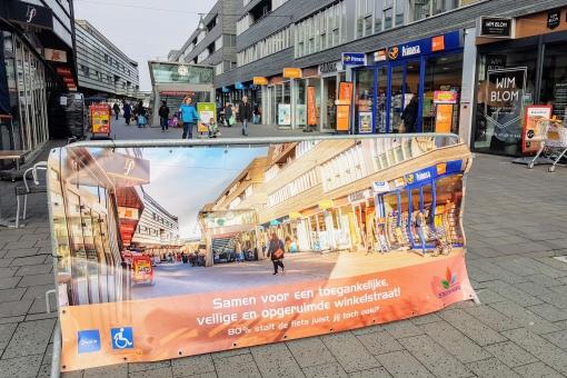 Winkelcentrum Stadshagen binnenkort echt fietsvrij?