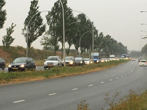 Grote drukte Hasselterweg door afsluiting N50