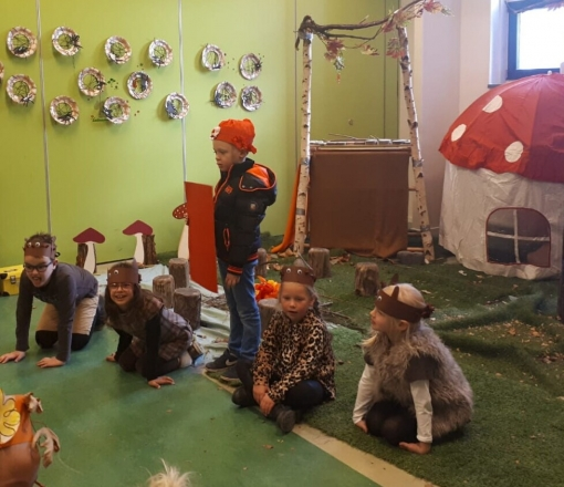 Leerlingen sprankelen in musical basisschool De Sprankel