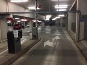 Slagbomen parkeergarage winkelcentrum weer actief