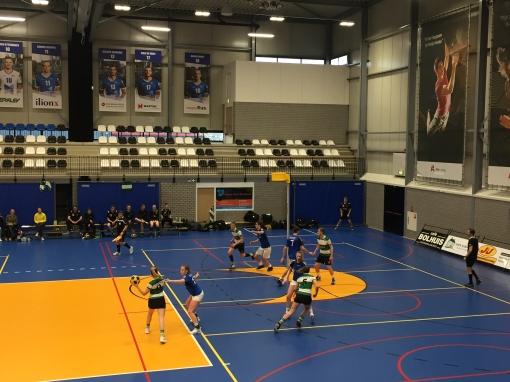 Korfballers Sparta Zwolle spelen zeer matige wedstrijd en zijn koploper af
