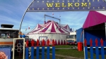 Circus neergestreken in winkelcentrum