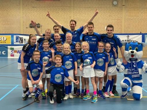 Korfballers Sparta Zwolle hebben koppositie weer terug in handen