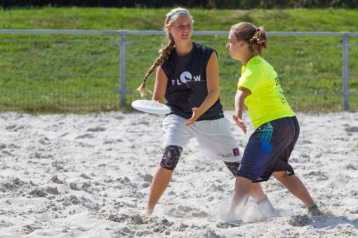 Frisbee leenkastjes en clinic in Stadshagen