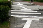 Meer 'ribbelstroken' voor blinden in Stadshagen