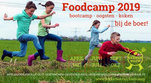 Bootcamp, oogsten en koken op de boerderij