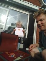 Gijs vindt schat in Stadshagen en wint  zwemdiploma!