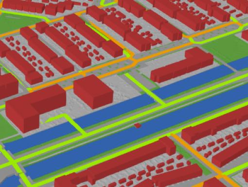 Experiment met digitale tweeling van Stadshagen