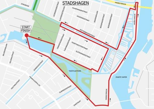 Zaterdag 12e editie EP StadshagenRun