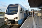 Eindelijk rijdt de trein via station Stadshagen