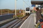 Veel reizigers op station Stadshagen