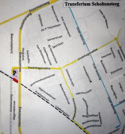 Onderzoek naar P&R-terrein Scholtensteeg