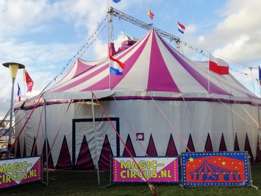 Circus strijkt neer in Stadshagen