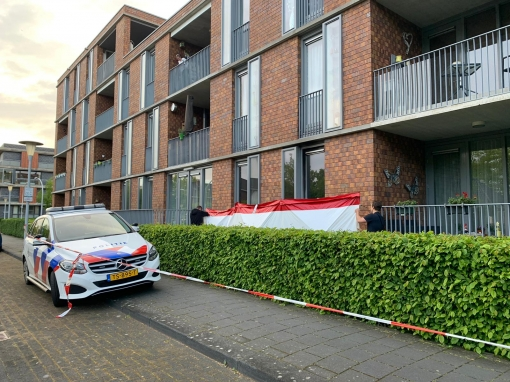Dode na brand in woning Frankhuizerallee