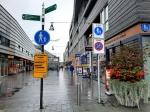 Winkelcentrum veiliger door fietsverbod