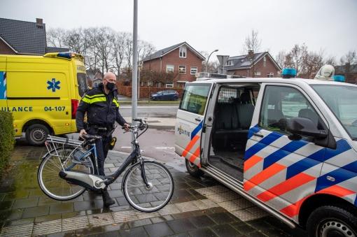 Fietster gewond na ongeval kruising Belvédèrelaan