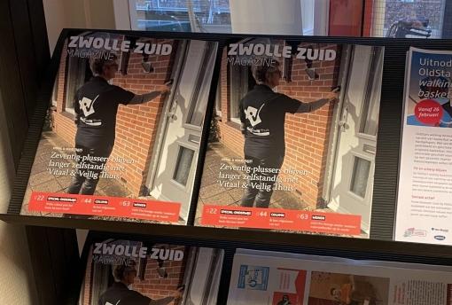 Na StadshagenNieuws nu ook ZwolleZuidNieuws in de lucht