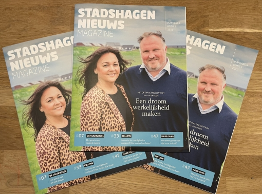 Zomereditie StadshagenNieuws Magazine deze week in de brievenbus