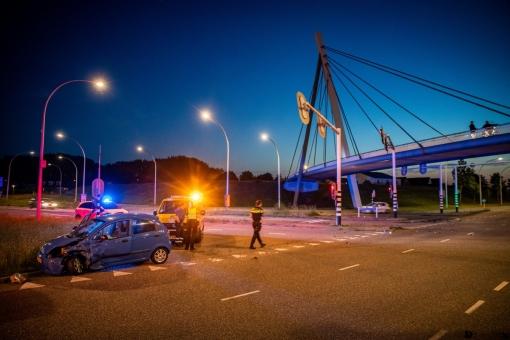 Ongeval kruising Hasselterweg met Westenholterallee