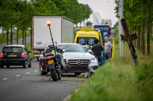 Eenzijdig ongeval Westenholterallee