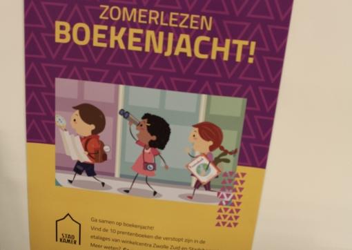 Ga op boekenjacht in Winkelcentrum Stadshagen