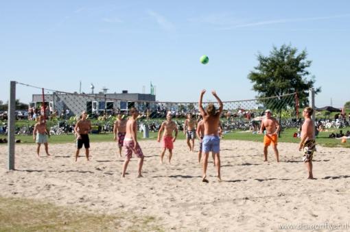 Stadshagen doet mee aan straatvolleybaltoernooi