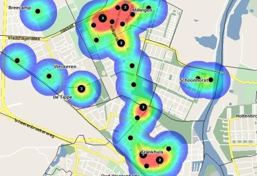 Politie: veel woninginbraken Stadshagen