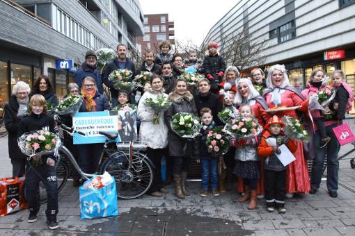 Winkelcentrum Stadshagen vervult 40 wensen