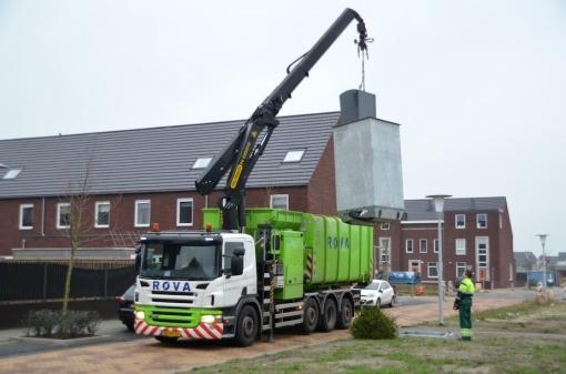 Meer ROVA-inzet tegen volle container lijkt succes