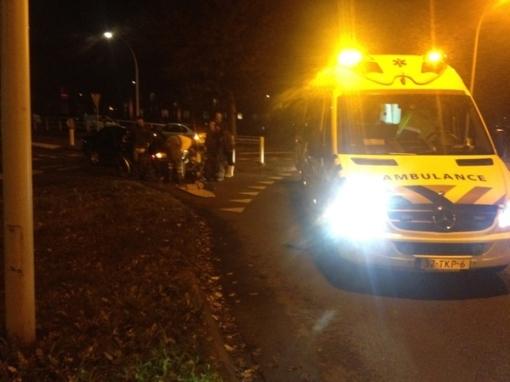 Fietster gewond na ongeval Drapenierlaan