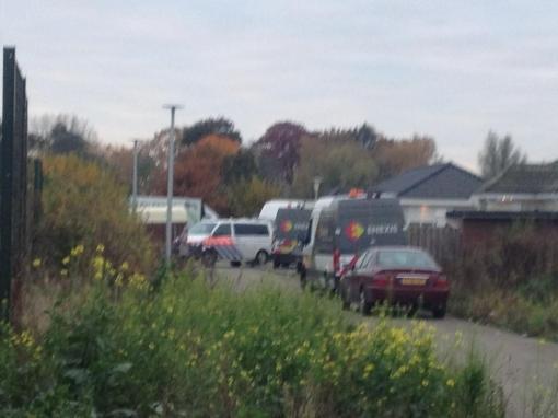 Arrestaties op woonwagenkampen Stadshagen