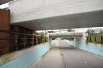 Gemeente pakt 'bobbelig' voetpad Rozentunnel aan