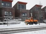Sneeuwdeken valt over Stadshagen (foto's)
