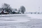 Tegenvallende vorst: ijsbaan nog niet open